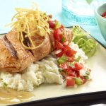 Chipotle Honet Glazed Salmon