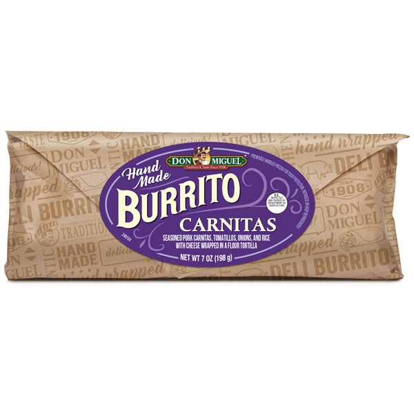 DON MIGUEL® Carnitas Burrito