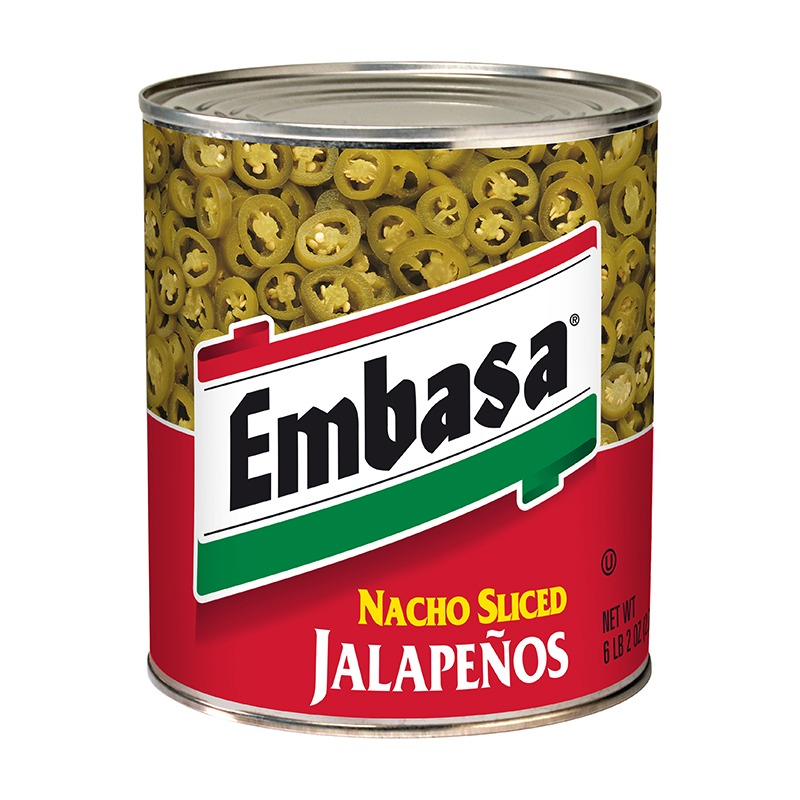 Embasa Nacho Jalapenos in can