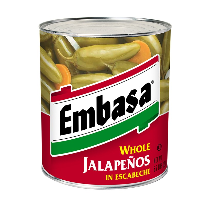 Embasa Whole Jalapenos in Escabeche in can
