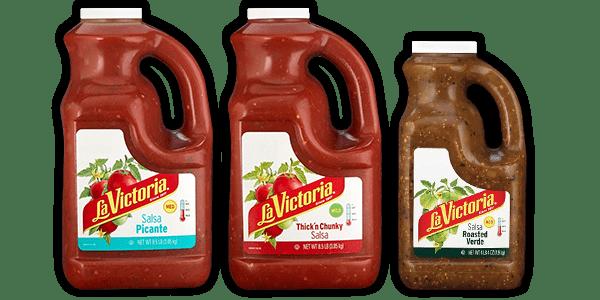 La Victoria family of salsas