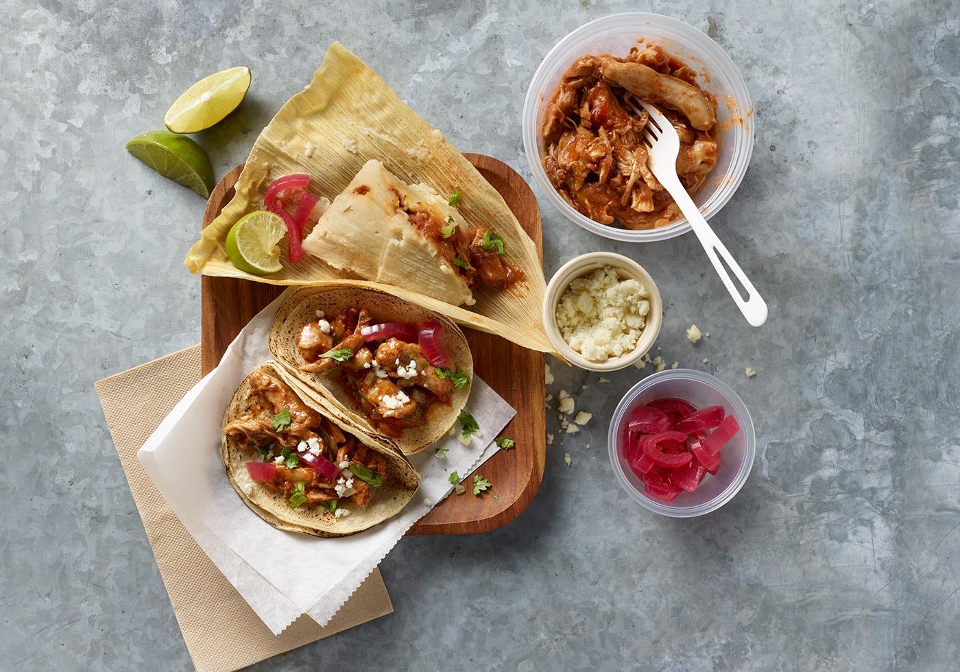 Smoked-Chicken-Picante-Tacos-Tamales