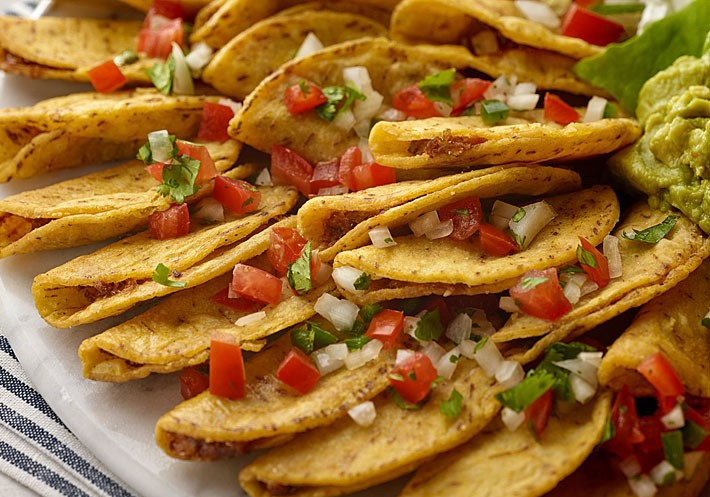 DON MIGUEL® brand mini tacos up close